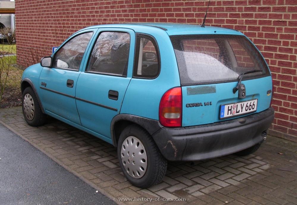 Opel Corsa A 1982 - 1993 Hatchback 3 door #3
