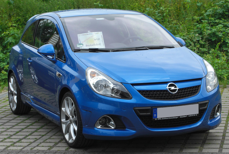Opel Corsa OPC D Restyling I 2010 - 2011 Hatchback 3 door #2