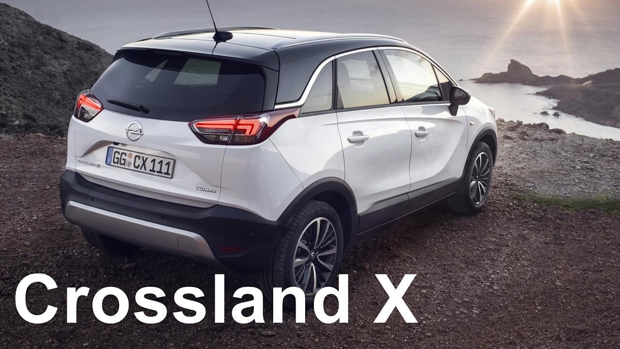 Opel Crossland X 2017 - now SUV 5 door #4
