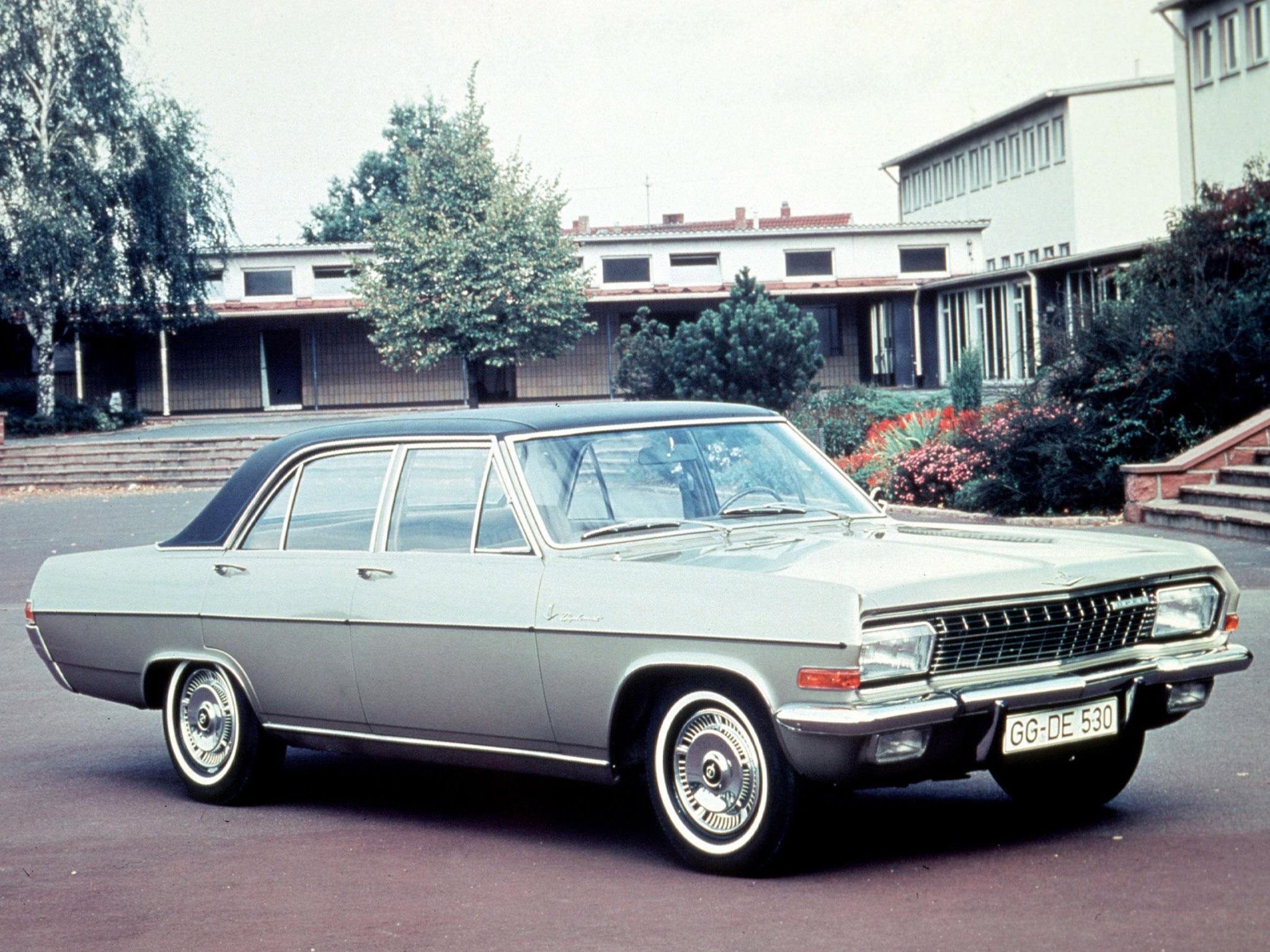 Opel Diplomat A 1964 - 1968 Sedan #5