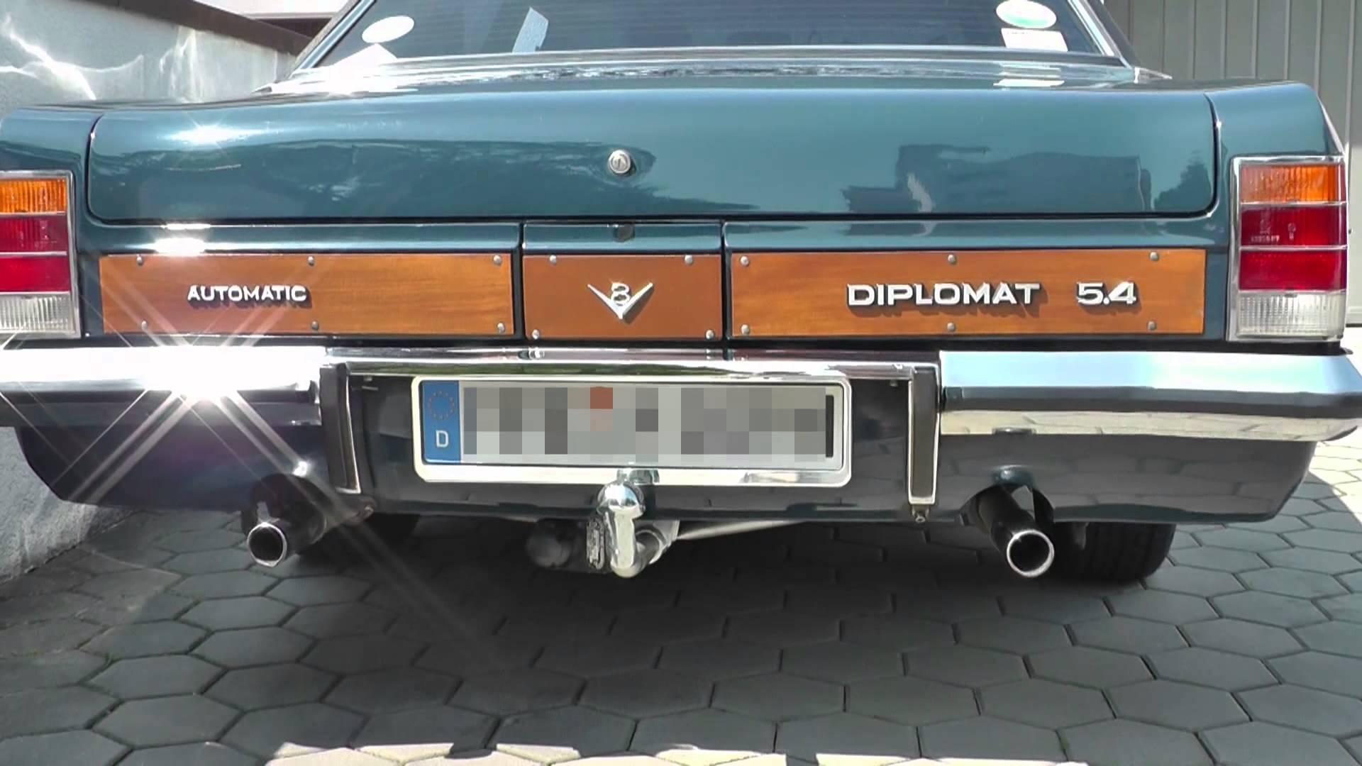 Opel Diplomat B 1969 - 1978 Sedan #6