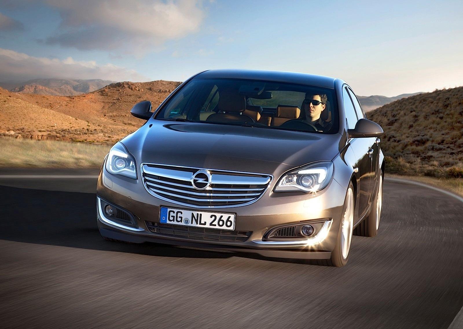 Opel Insignia I Restyling 2013 - now Liftback #3