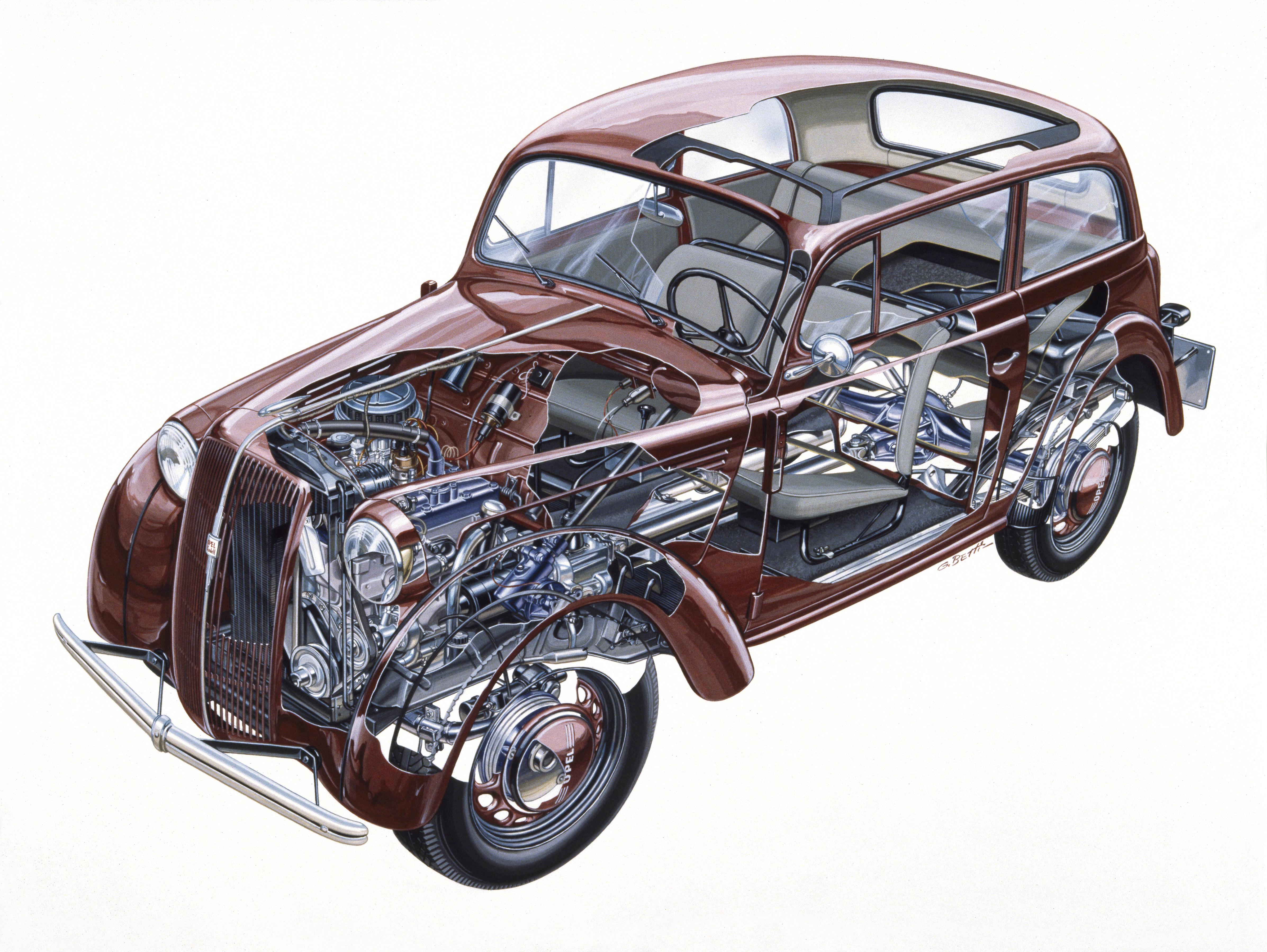 Opel Kadett '37 1937 - 1940 Sedan #4