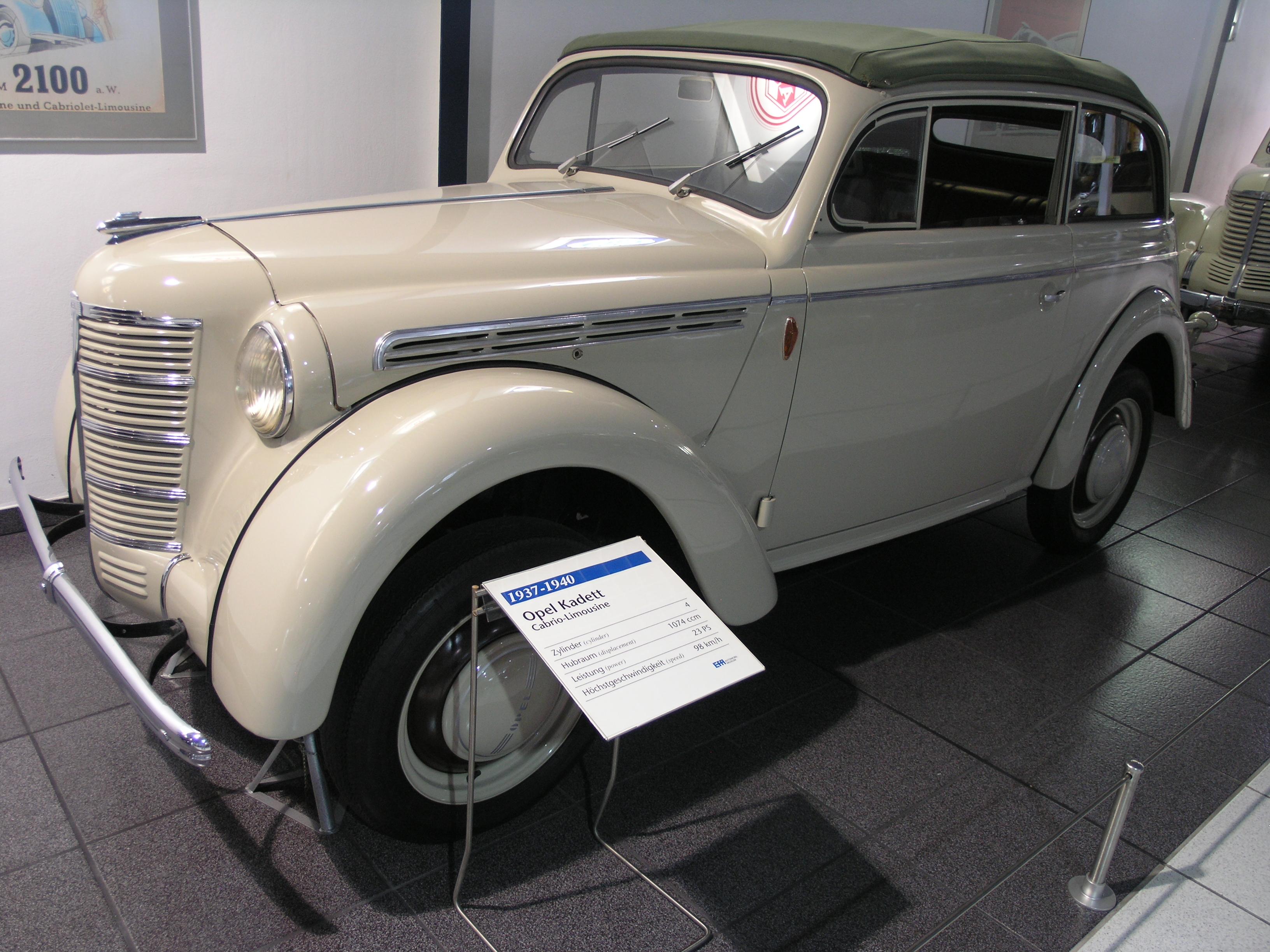 Opel Kadett '37 1937 - 1940 Sedan #5