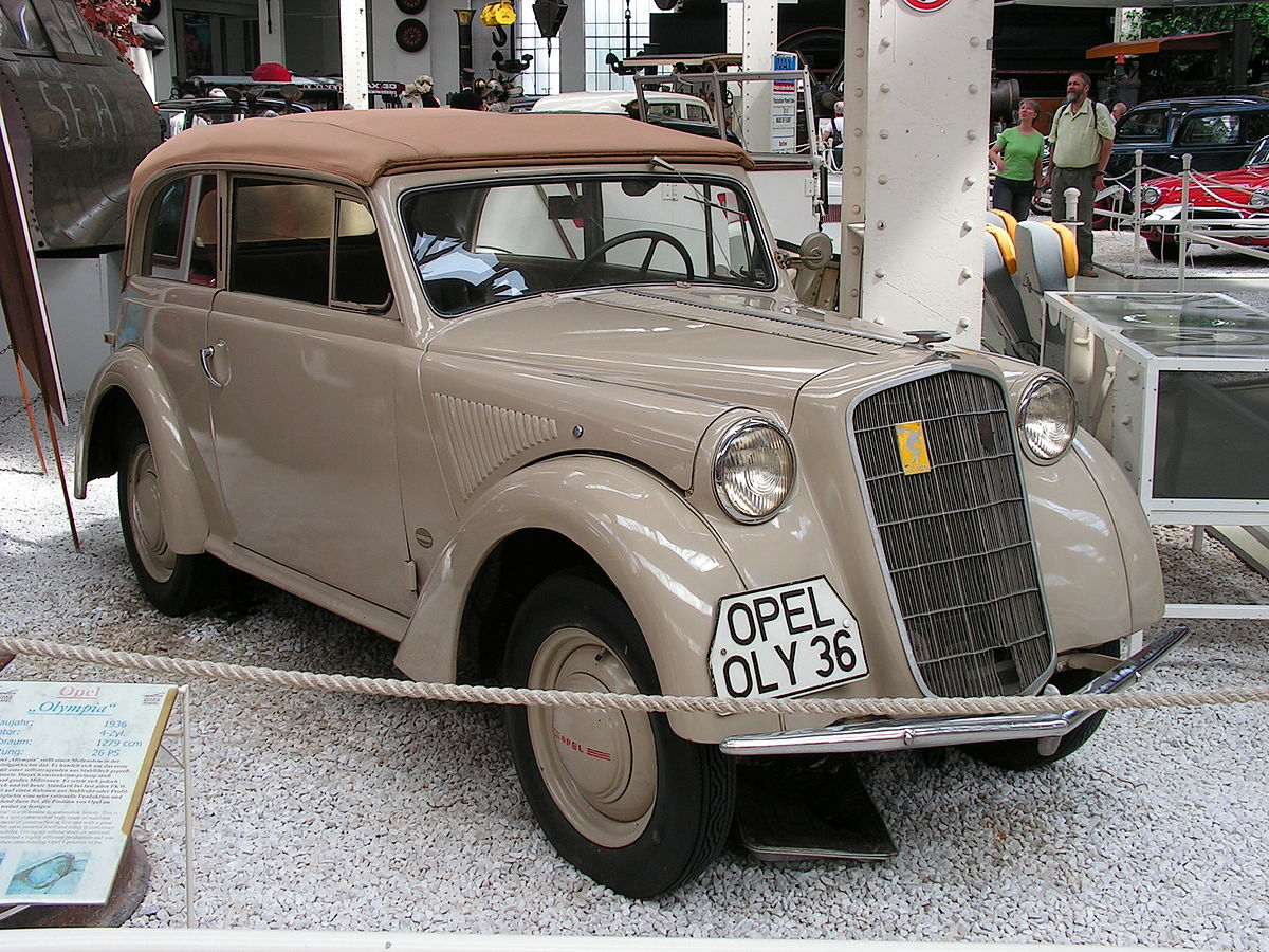 Opel Olympia II 1950 - 1953 Cabriolet #7