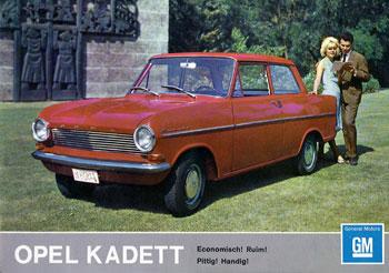 Opel Kadett A 1962 - 1965 Coupe #6