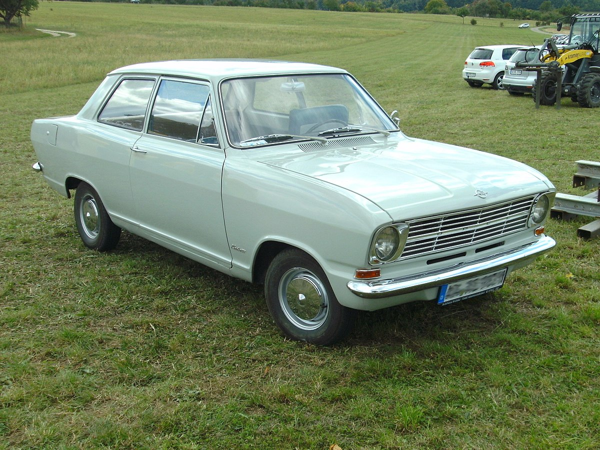 Opel Olympia A 1967 - 1970 Coupe #8
