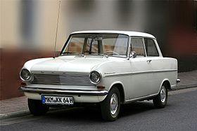 Opel Kadett A 1962 - 1965 Sedan 2 door #8
