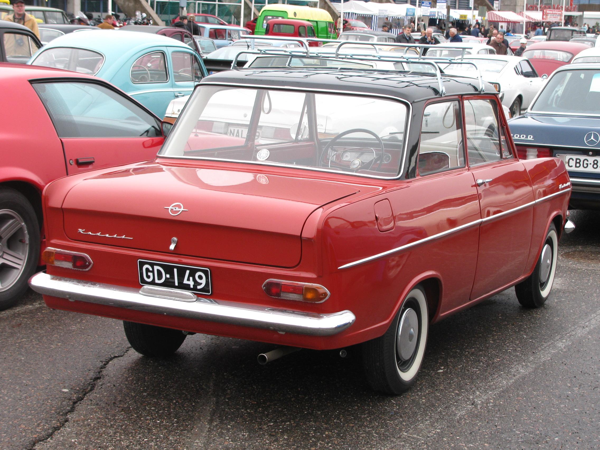 Opel Kadett A 1962 - 1965 Station wagon 3 door #1