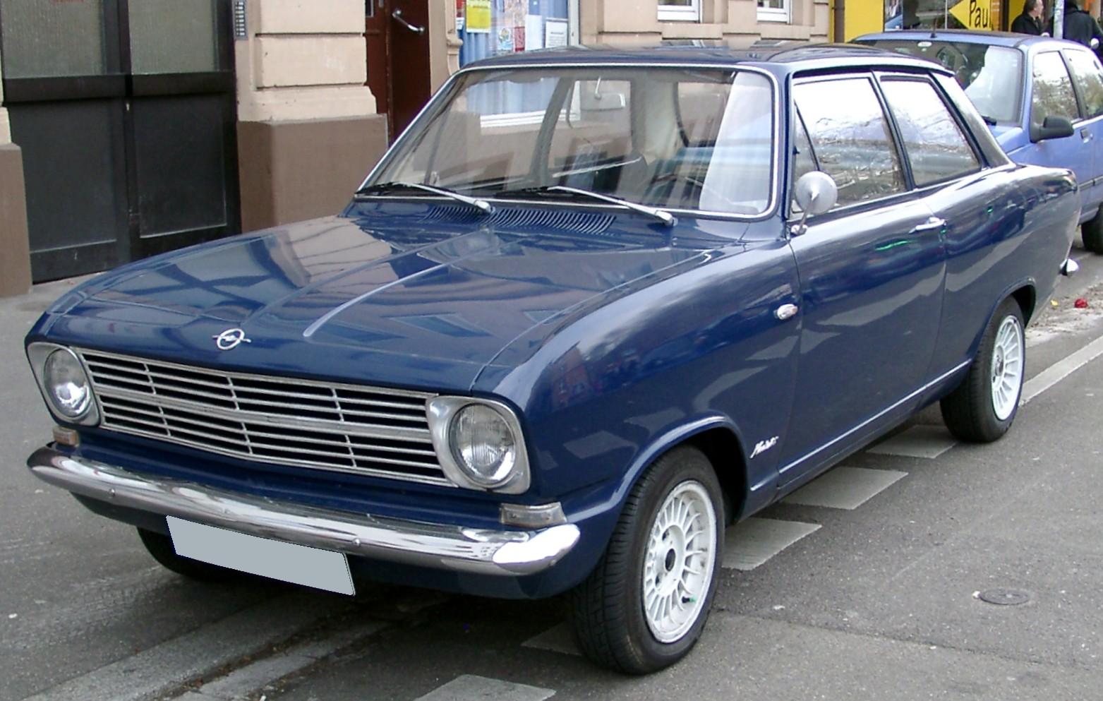 Opel Kadett B 1965 - 1973 Station wagon 3 door #5