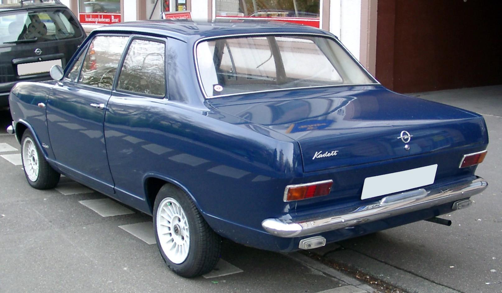 Opel Kadett B 1965 - 1973 Sedan 2 door #3