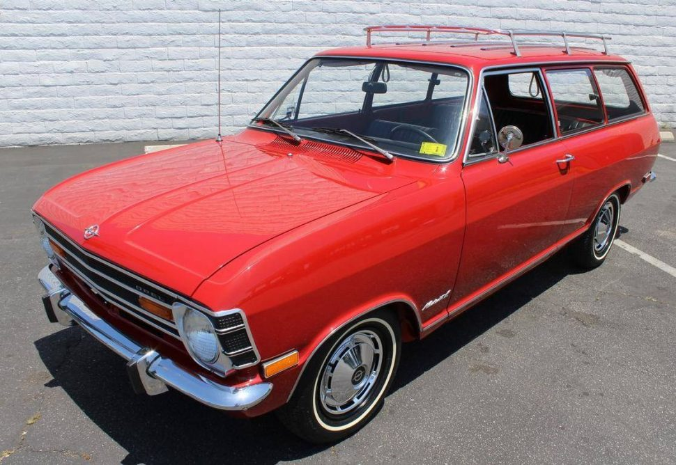Opel Kadett B 1965 - 1973 Station wagon 3 door #3