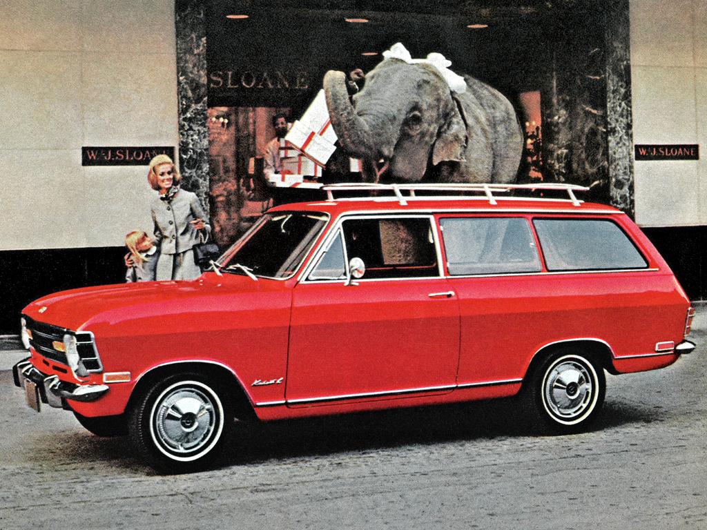Opel Kadett B 1965 - 1973 Station wagon 3 door #1