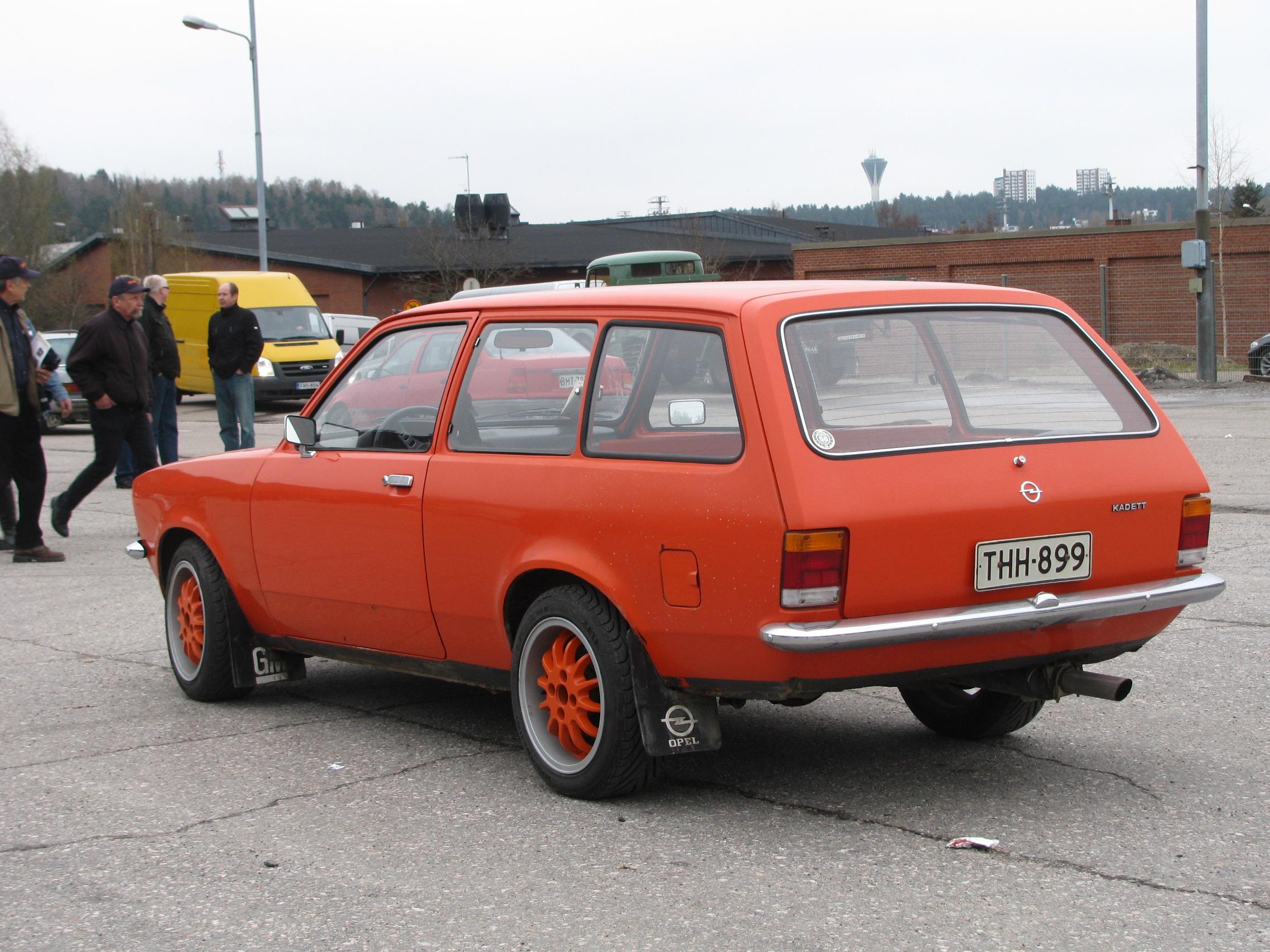 Opel Kadett C 1973 - 1979 Station wagon 3 door #2