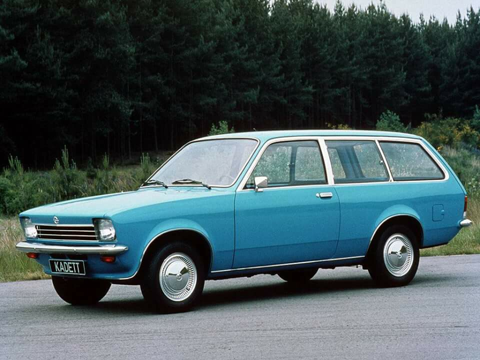 Opel Kadett C 1973 - 1979 Station wagon 3 door #5