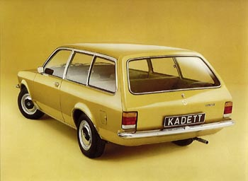 Opel Kadett C 1973 - 1979 Station wagon 3 door #4