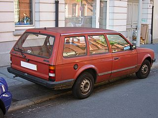 Opel Kadett D 1979 - 1984 Station wagon 3 door #7