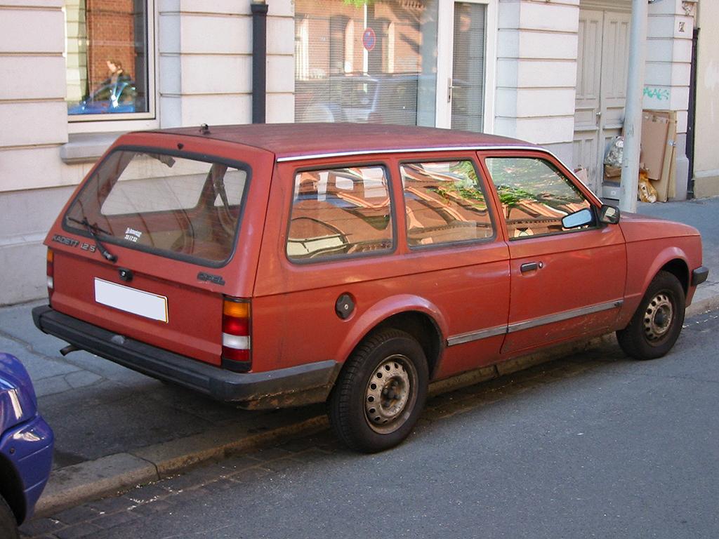 Opel Kadett D 1979 - 1984 Station wagon 3 door #3
