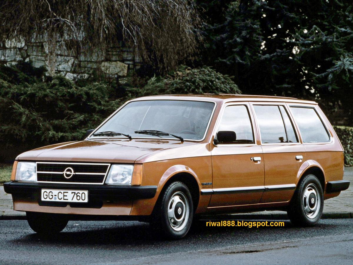 Opel Kadett D 1979 - 1984 Station wagon 3 door #4