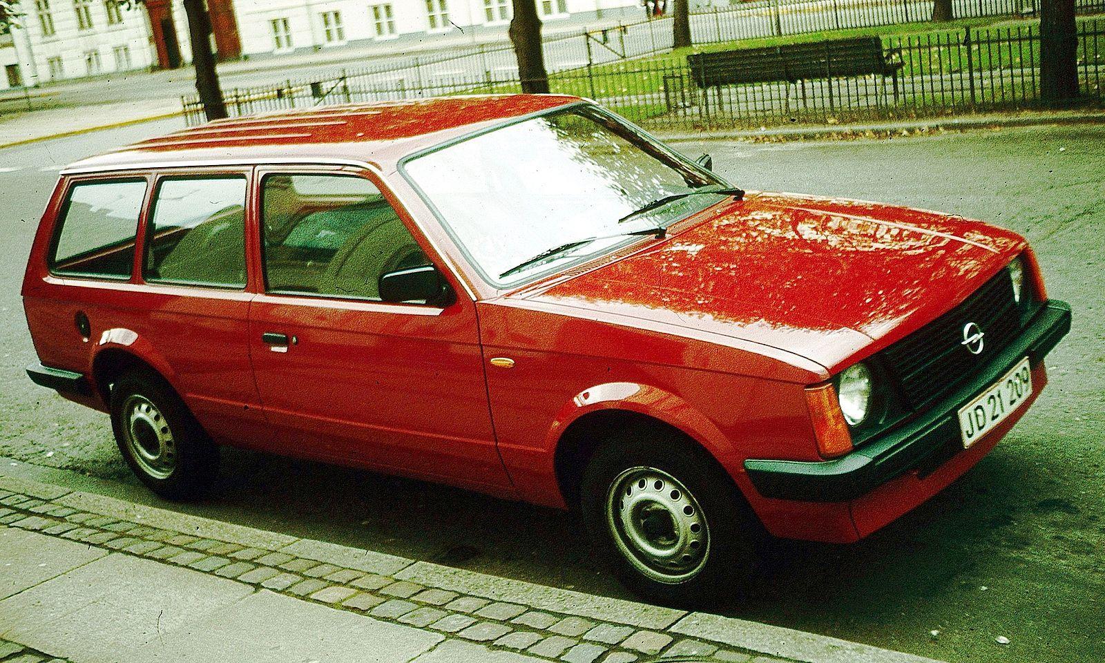 Opel Kadett D 1979 - 1984 Station wagon 3 door #6