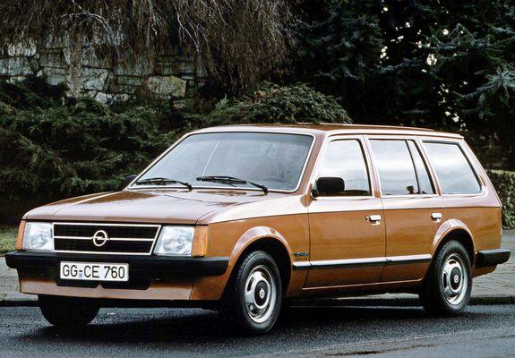 Opel Kadett D 1979 - 1984 Station wagon 5 door #6