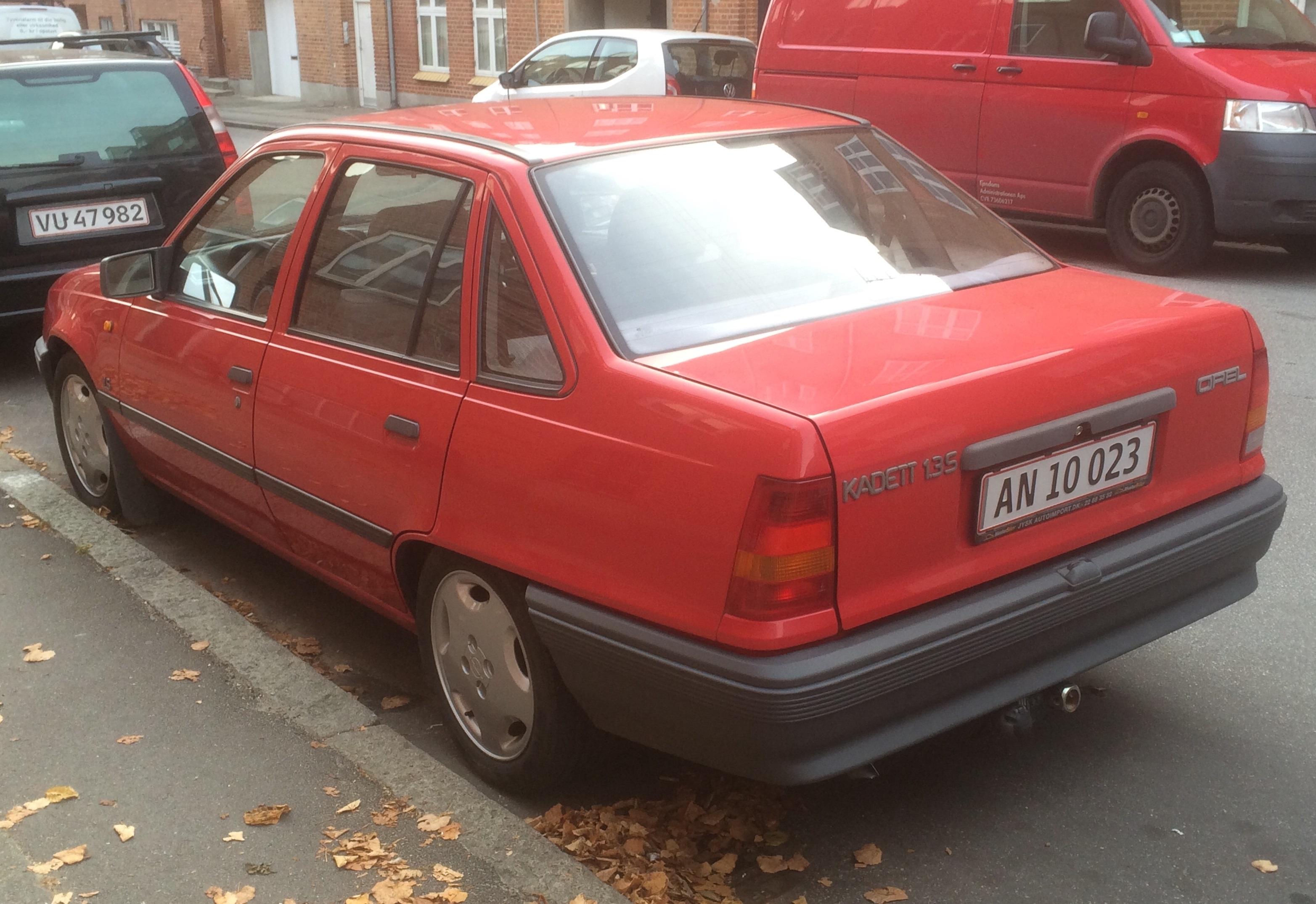 Opel Kadett E 1984 - 1991 Cabriolet #7