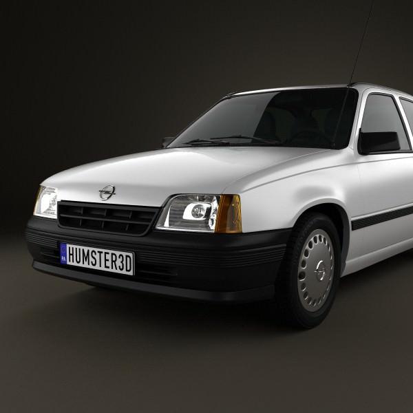 Opel Kadett E 1984 - 1991 Hatchback 3 door #6