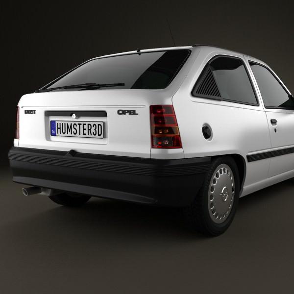 Opel Kadett E 1984 - 1991 Hatchback 3 door #7
