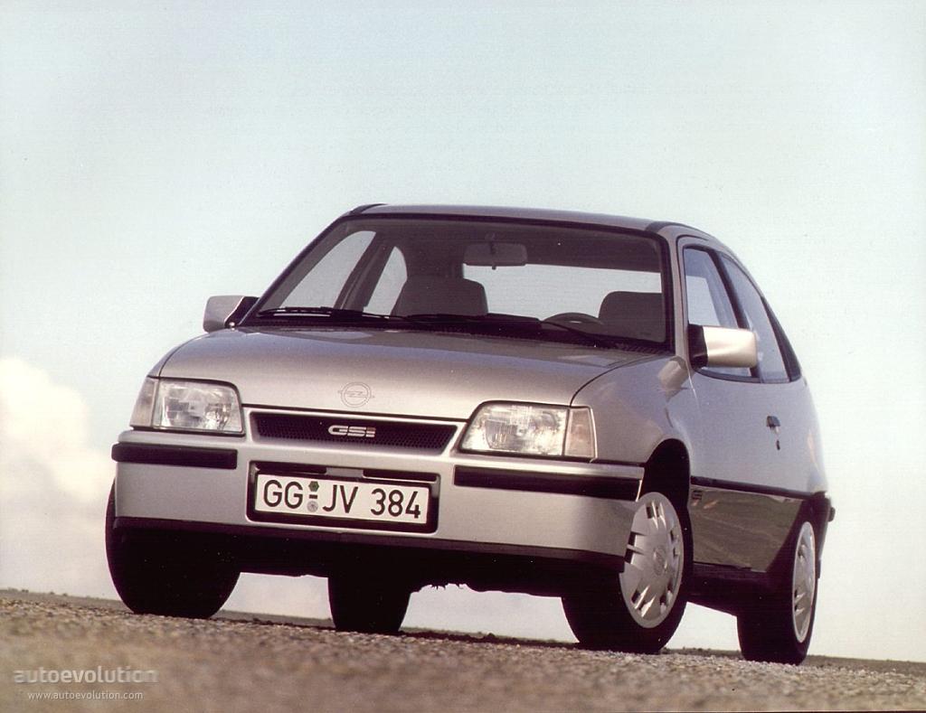 Opel Kadett E 1984 - 1991 Hatchback 3 door #4