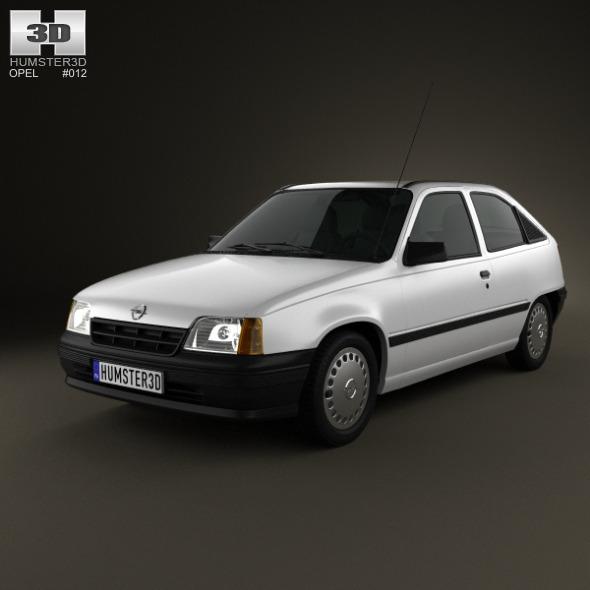 Opel Kadett E 1984 - 1991 Hatchback 3 door #8