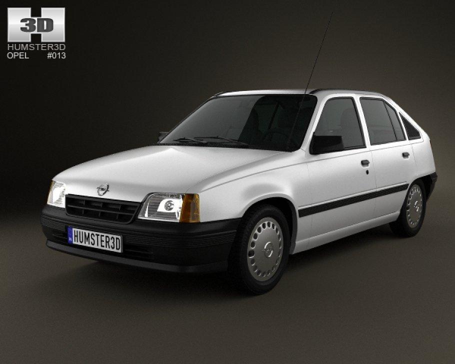 Opel Kadett E 1984 - 1991 Hatchback 5 door #7