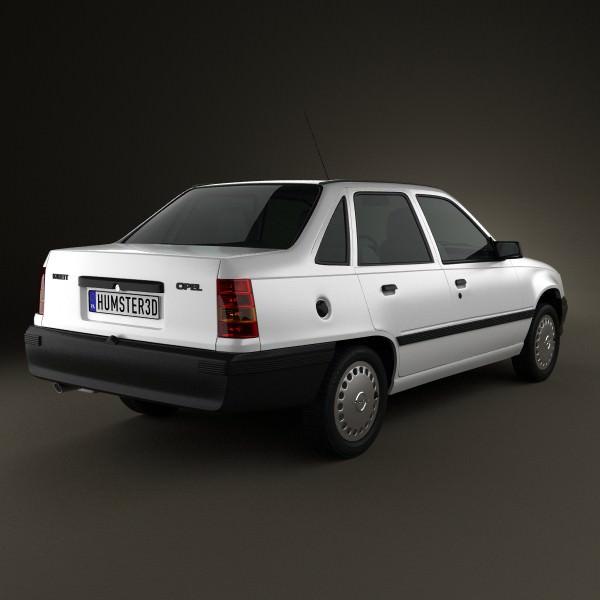 Opel Kadett E 1984 - 1991 Sedan #6