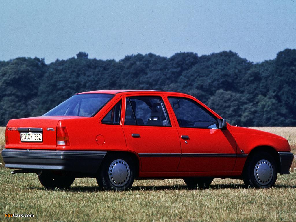 Opel Kadett E 1984 - 1991 Sedan #8