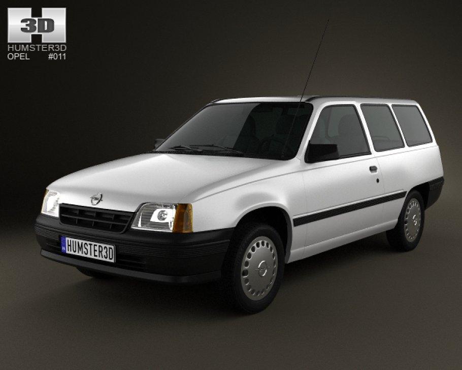 Opel Kadett E 1984 - 1991 Station wagon 5 door #3