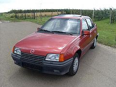Opel Kadett E Restyling 1989 - 1993 Cabriolet #5