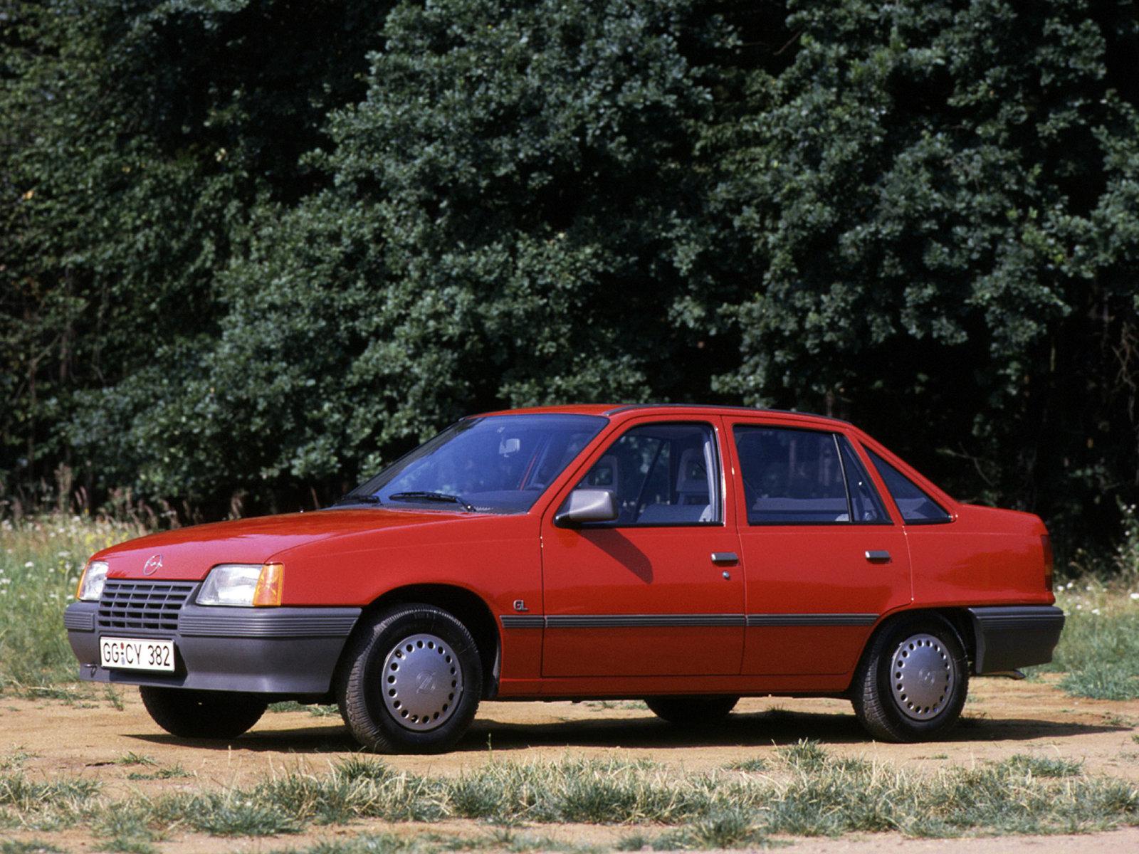 Opel Kadett E Restyling 1989 - 1993 Sedan #7