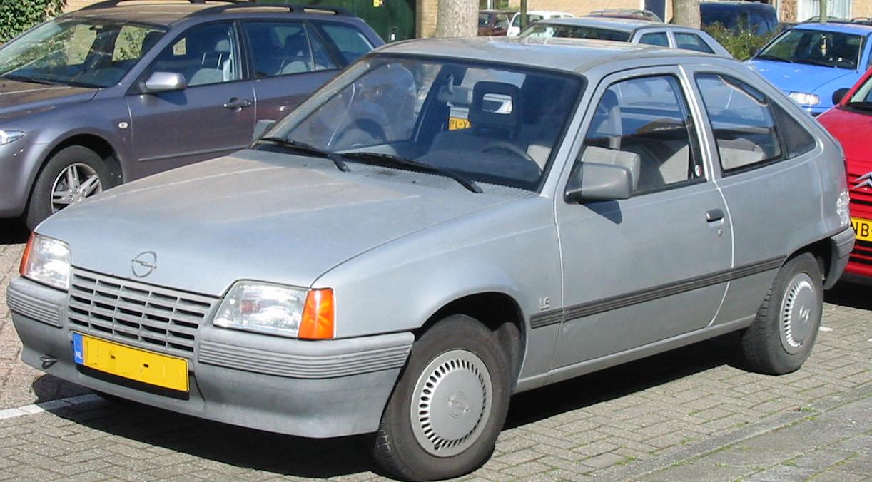 Opel Kadett E Restyling 1989 - 1993 Sedan #5