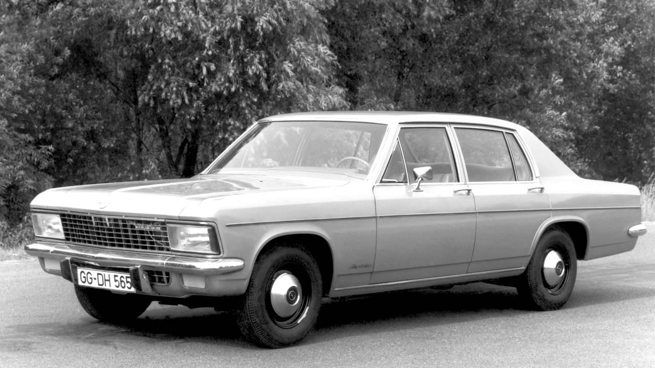 Opel Kapitan B 1969 - 1970 Sedan #1