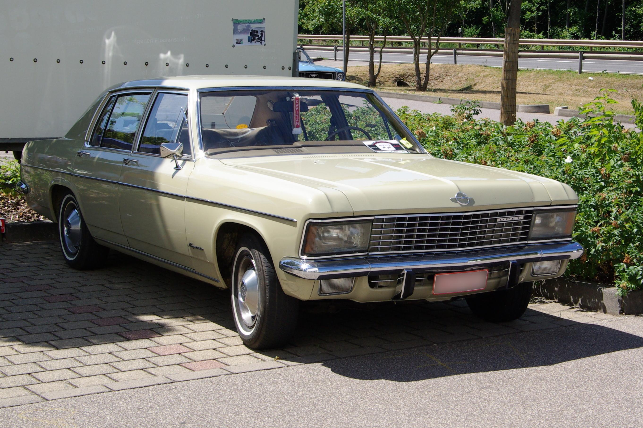 Opel Kapitan B 1969 - 1970 Sedan #2