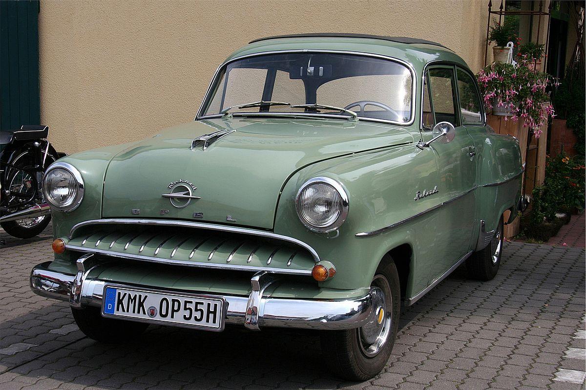 Opel Olympia II 1950 - 1953 Cabriolet #6