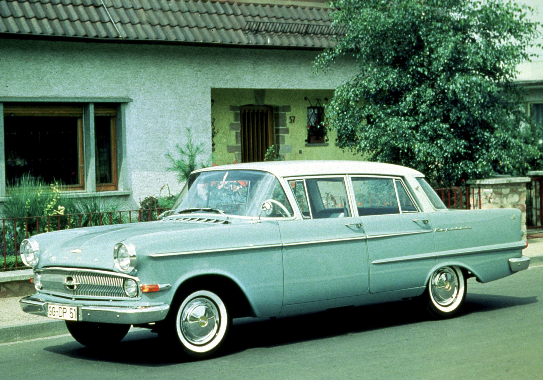 Opel Kapitan P1 1958 - 1959 Sedan #2