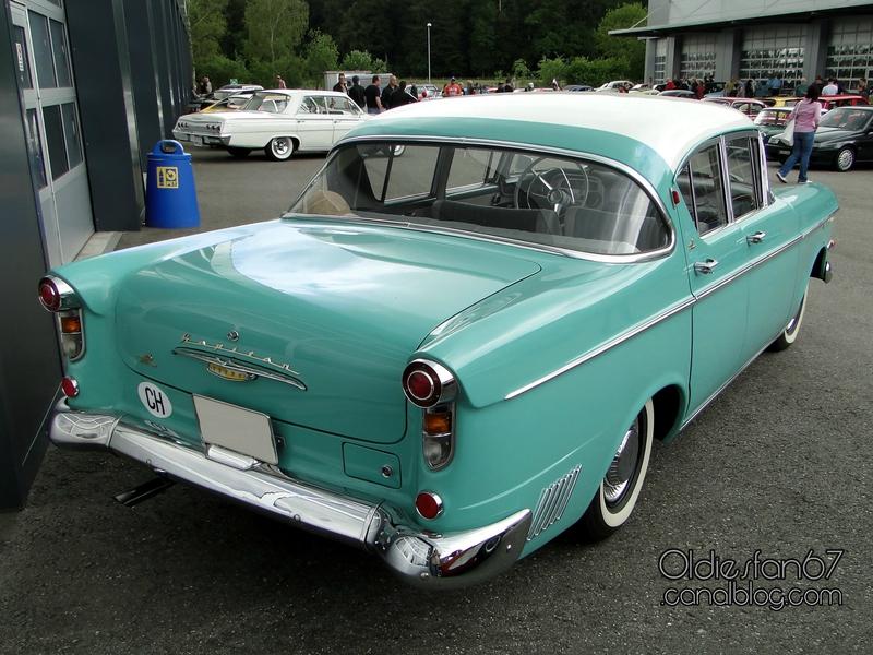 Opel Kapitan P1 1958 - 1959 Sedan #1