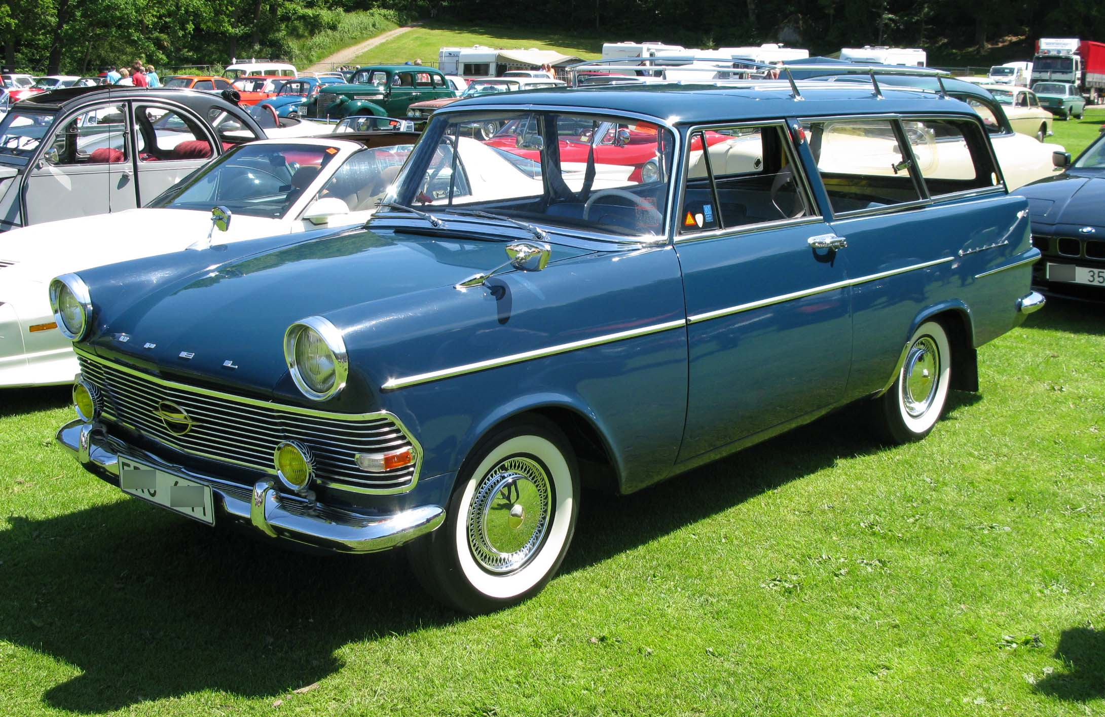 Opel Rekord A 1963 - 1965 Station wagon 3 door #6