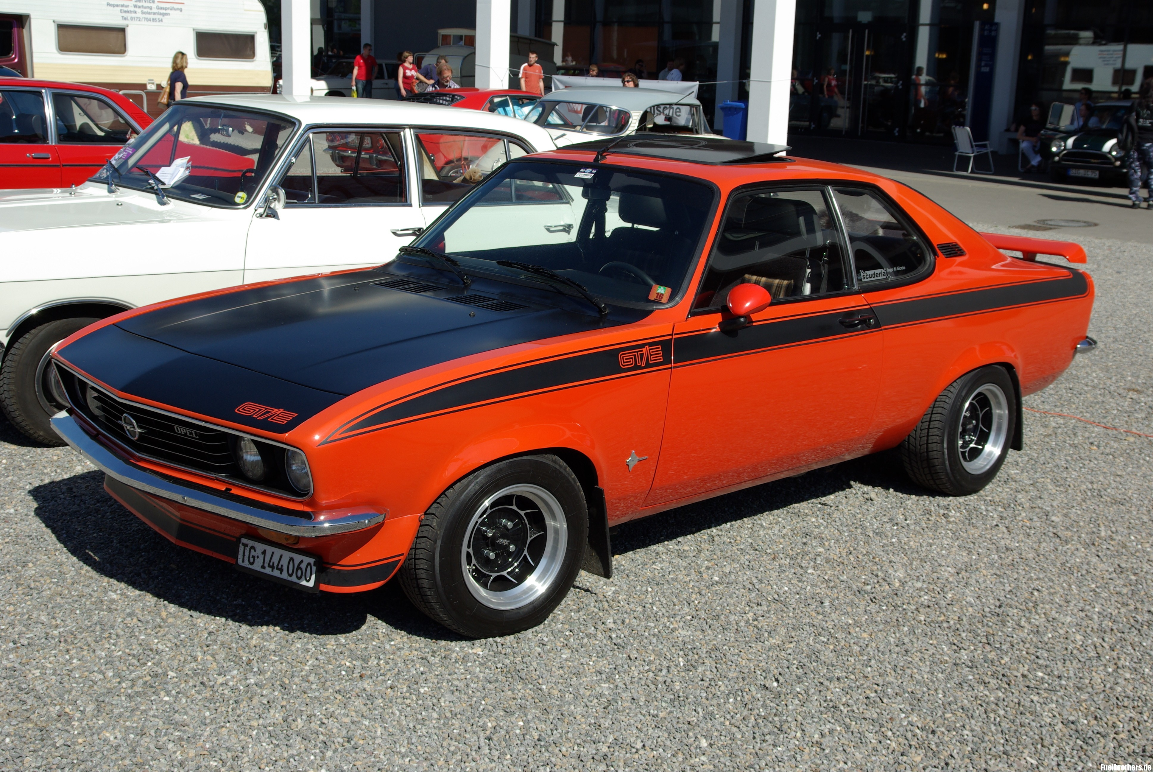 Opel Manta A 1970 - 1975 Coupe #1