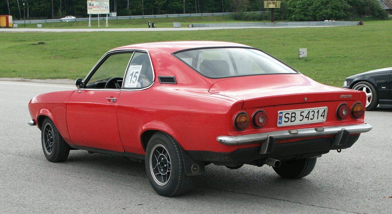 Opel Manta A 1970 - 1975 Coupe #3