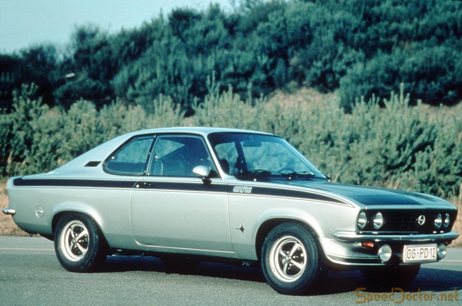 Opel Manta A 1970 - 1975 Coupe #5