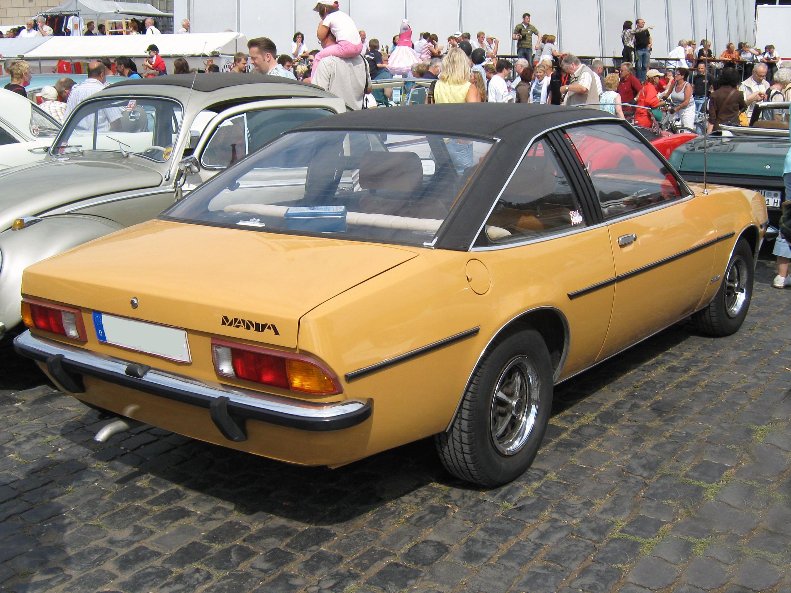 Opel Manta A 1970 - 1975 Coupe #2