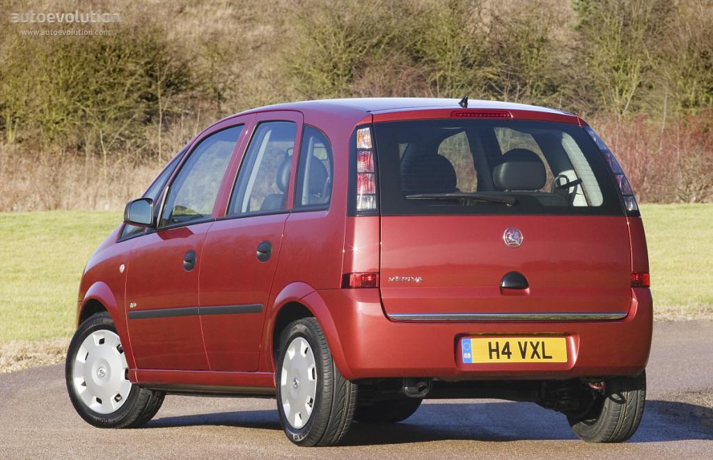 Opel Meriva A 2003 - 2006 Compact MPV #1