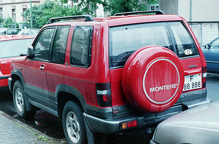 Opel Monterey A Restyling 1998 - 1999 SUV 5 door #2