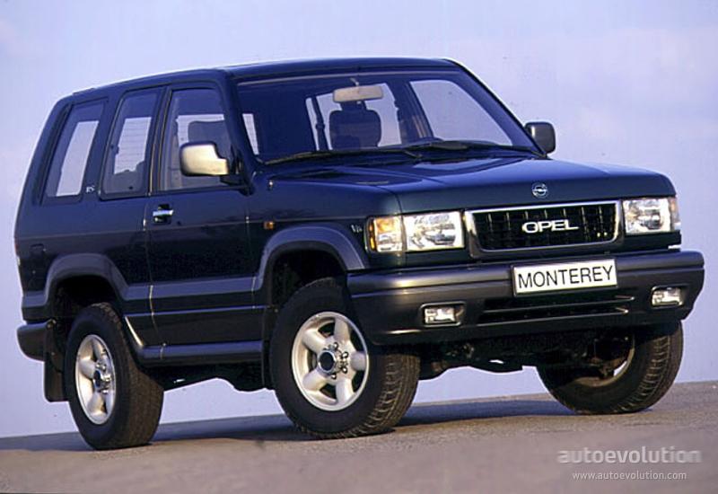 Opel Monterey A 1992 - 1998 SUV 5 door #6